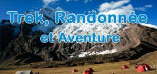 Trek et Randonnée et Aventure